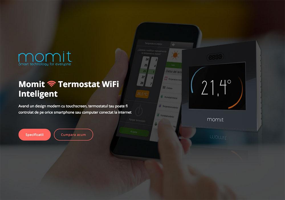 site prezentare termostat